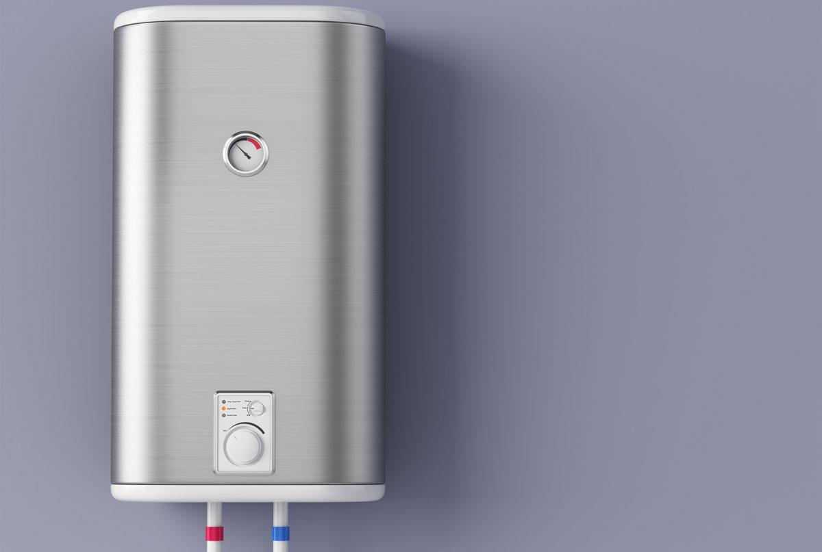 prietokovy ohrievac vody alebo bojler na teplu vodu