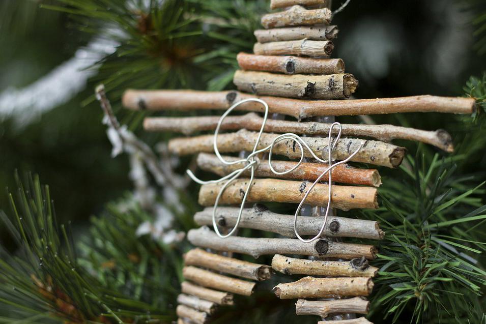 Vyrobte si eko vianočné dekorácie