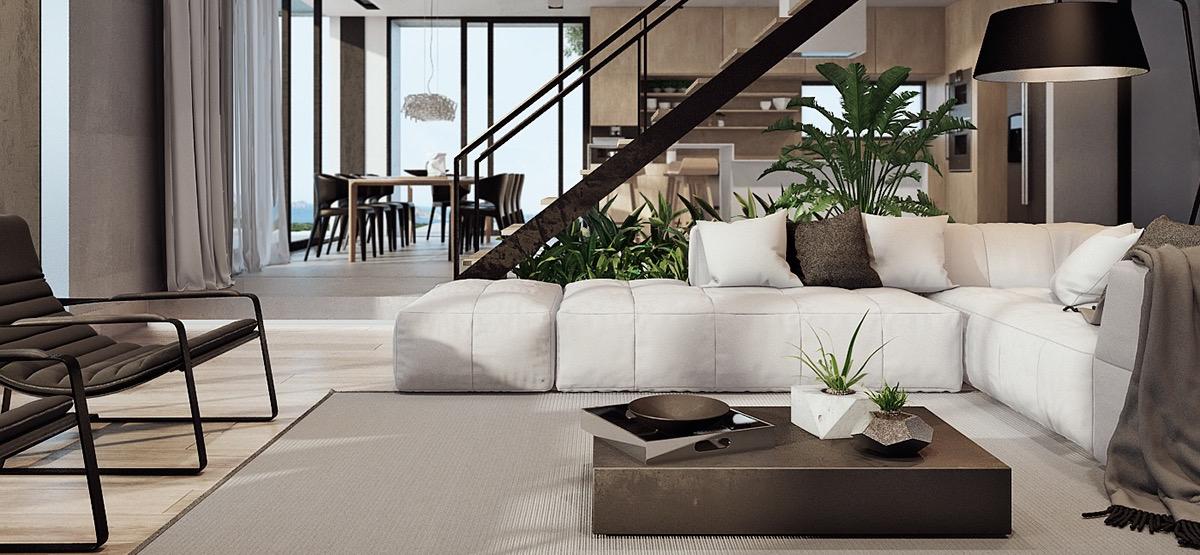 5 nápadov pre moderný interiér