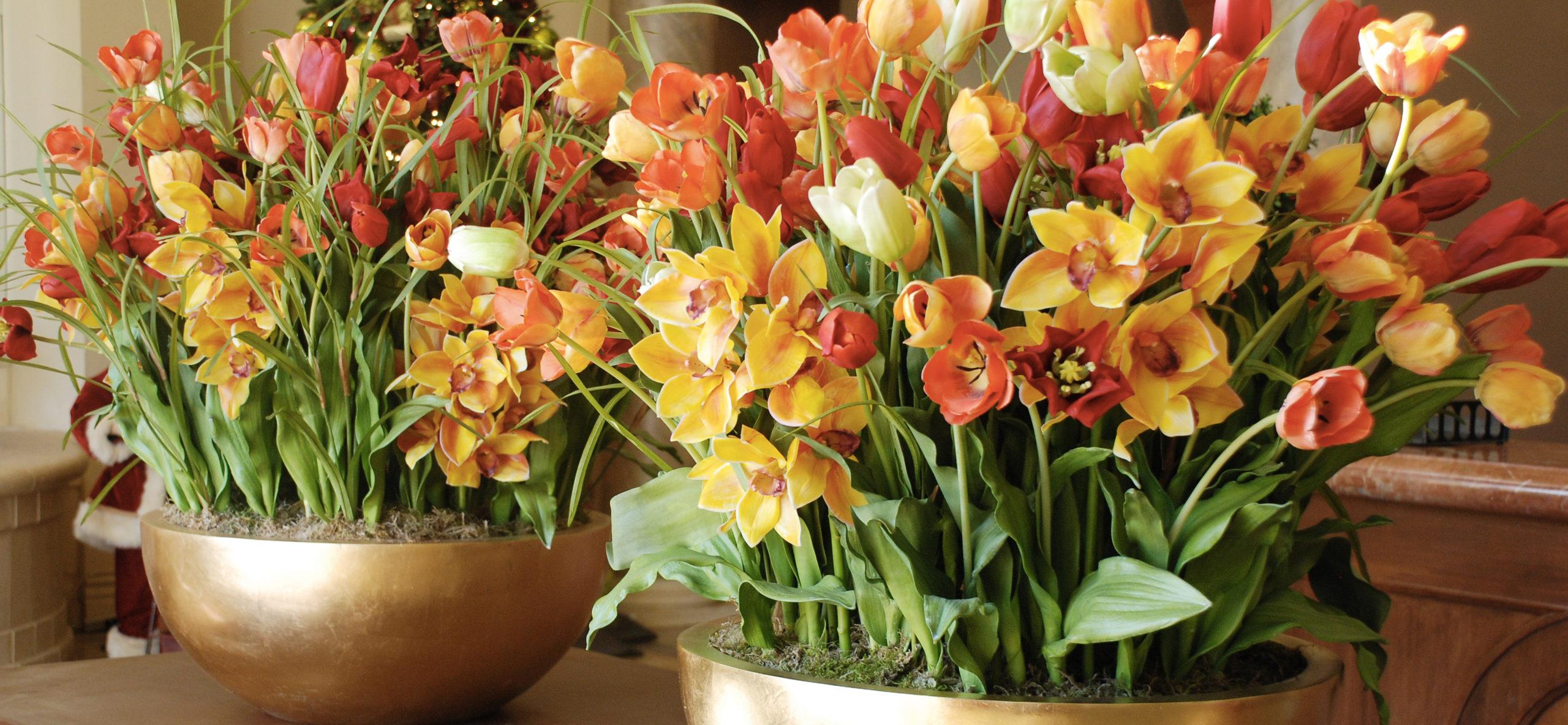 Umelé kvety: Nulová starosť a pritom rozžiaria