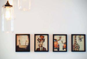 Ako na obrazy do interiéru