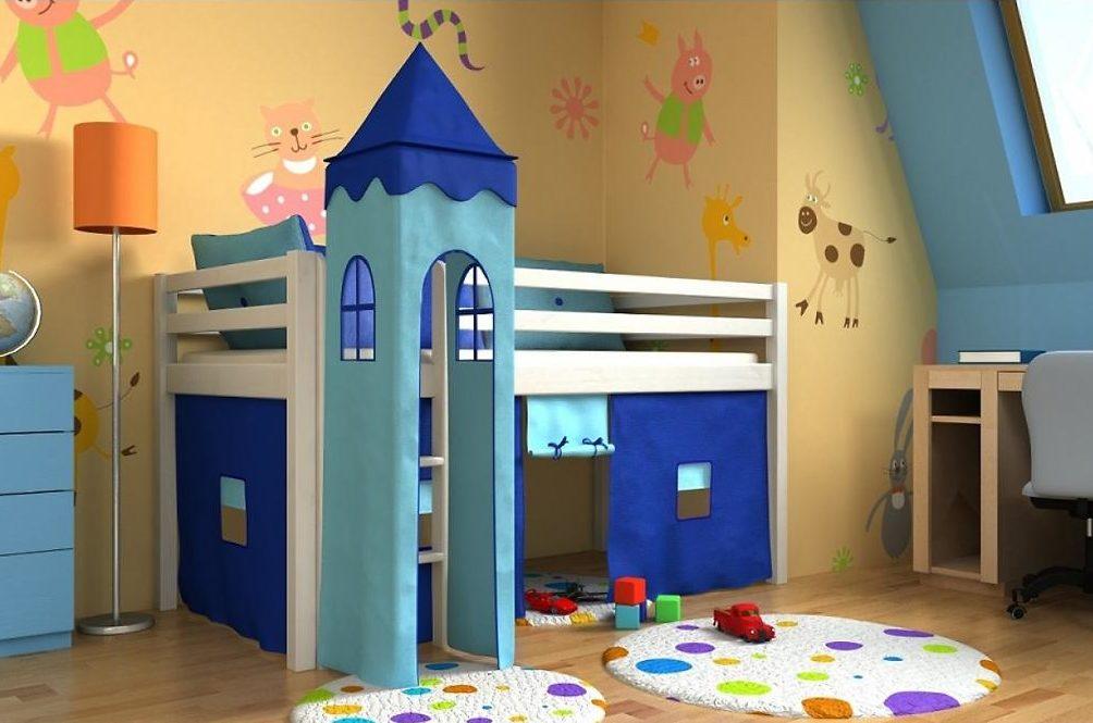 Detské postele a ich kreatívne využitie