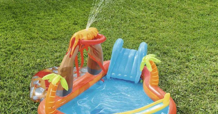 Detský nafukovací bazén: veľa zábavy pre vašich najmenších