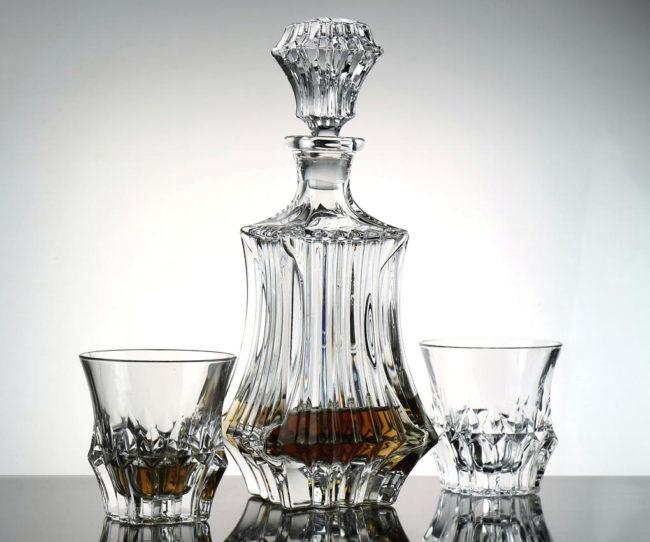 Bohemia Jihlava whisky set Prague 1+6