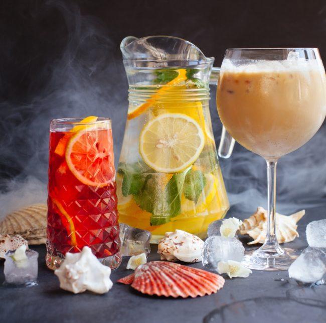 Karafy a džbány pre štýlové servírovanie nápojov