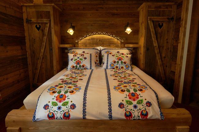 Posteľná obliečka bavlna FOLKLÓR 140x200/70x90cm