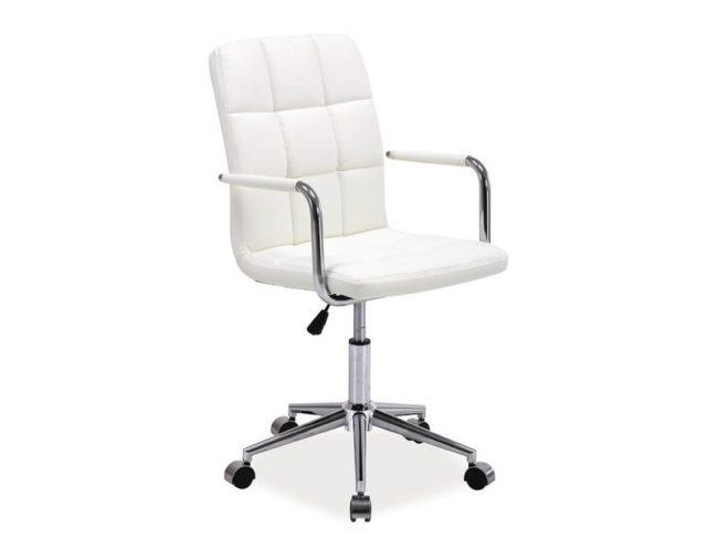 Kancelárske kreslo K-022, biele