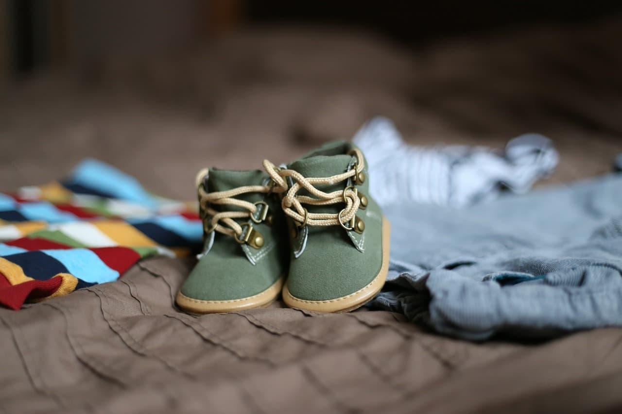 detske-zelene-textile-topanky-s-tenkou-podrazkou