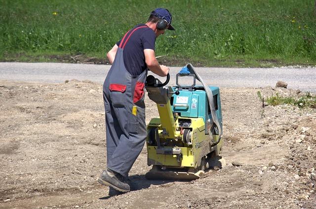 priprava terenu na pokladku zamovej dlazby