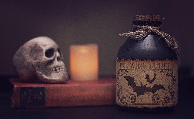 hallowenske dekoracie